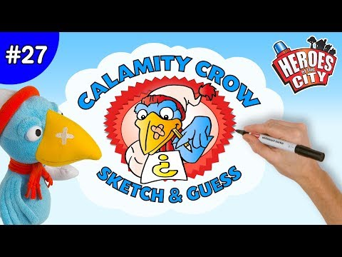 Heroes of the City – Ep 27 Sketch & Guess with Calamity Crow
