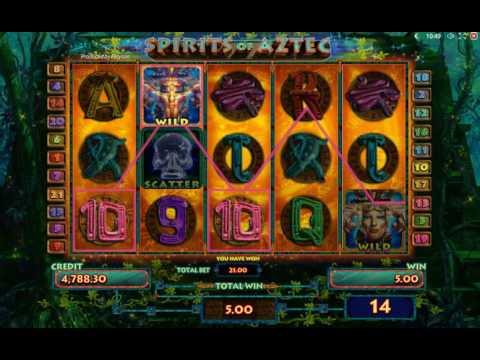 Обзор игрового автомата Spirits of Aztec (Playson)