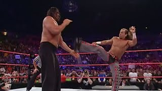 The Great Khali showcases his strength against Shawn Michaels.More ACTION on WWE NETWORK : http://wwenetwork.comSubscribe to WWE on YouTube: http://bit.ly/1i64OdTMust-See WWE videos on YouTube: https://goo.gl/QmhBofVisit WWE.com: http://goo.gl/akf0J4