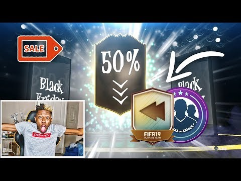 FIFA 19 BLACK FRIDAY LIGHTNING ROUNDS & NEW FLASHBACK SBCS & MORE