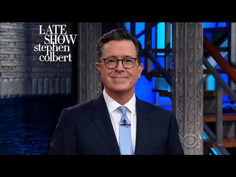 Scaramucci going on Stephen Colbert's show Monday