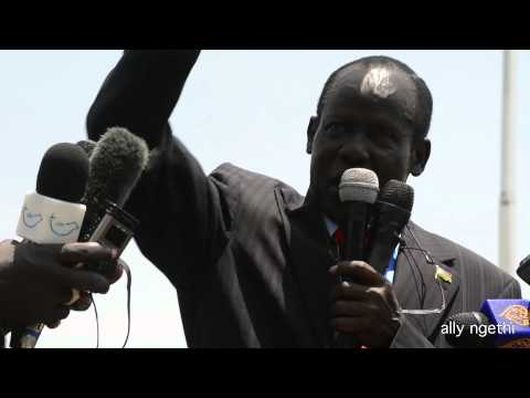 South sudan - Protesters demand resignation of UNIMISS in South Sudan special representative Hilda Johnson at the rally addressed by top government officials.