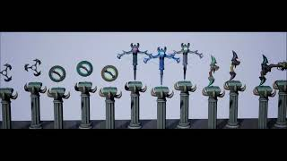 Stylized Mythical Weapons