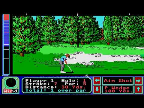 Jack Nicklaus' Greatest 18 Holes of Major Championship Golf Atari