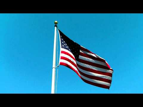 pourquoi le drapeau américain flotte sur la lune
