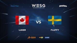 Fluffy vs Luker, game 1