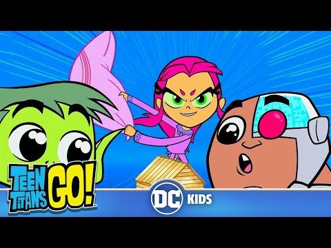 Teen Titans Go! en Français | Retour en enfance | DC Kids