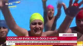 Gaziosmanpaşa'da Havuz Keyfi - Ülke Tv