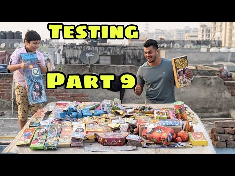 Different types of Crackers Testing  PART 9 | Diwali Crackers Testing | New Crackers 2020 | MATKA 😍