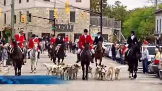 Elora (ON) Canada  city photo : Horse and Hound Parade Oct 04, 2015. Elora, ON Canada
