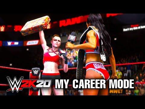 WWE 2K20 My Career Mode - Ep 10 - CASHING IN!!