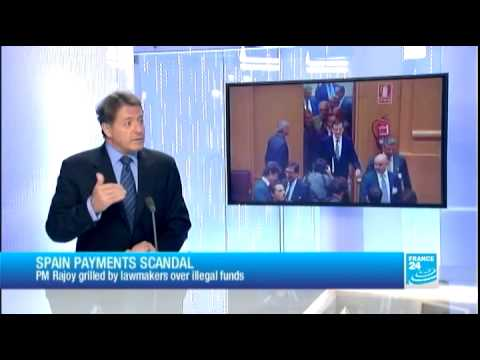 Spain : PM Rajoy in a fighting mood denies all allegations
