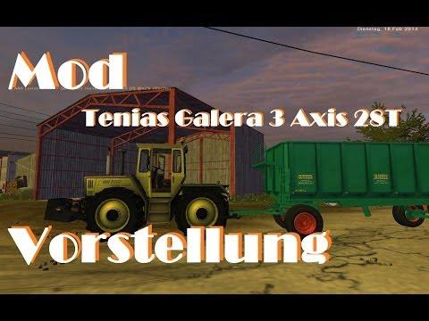 Tenias Galera 3 Axis 28T v2.0 MR