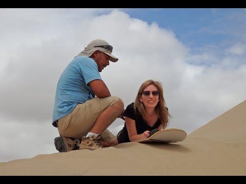 Visiting Huacachina to experience Sandboarding & Dune Buggy