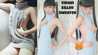 "https://jukustore.com/products/sexy-virgin-killer-sleeveless-turtleneck-sweater-6-colors-ju181820% off the entire store (not just the virgin killer sweater)code is: Yumi20Disclaminer: The sweater was given to me by yukustoreCheck out more videos about me if you're new to me ^^My Wedding Planning https://www.youtube.com/watch?v=yeS8SE5VgDQ&t=1sI Immigrated to the USA with My Parents  My Story https://www.youtube.com/watch?v=W8QOXYAm0d4Facts about me:https://www.youtube.com/watch?v=sDkaoQ7rPZYMy House Tour  Parents Home :https://www.youtube.com/watch?v=SH0zJ4m1YHI&t=18sGraduation Ceremony at University of Washingtonhttps://www.youtube.com/watch?v=xIKrXR5ly9UMy Last Day in University  How Professor Feels About Me? Campus Tour https://www.youtube.com/watch?v=ywrX6biSouM&t=25sChinese Style Fashionhttps://www.youtube.com/watch?v=V3p0ZNuu8Sshttps://www.youtube.com/watch?v=-q95U-sgKE8&t=10shttps://www.youtube.com/watch?v=wjt8Aum_PLINew video on 2nd channel:https://www.youtube.com/watch?v=xaFDzQ9OvbIBg music:Cut and Run - Electronic Hard by Kevin MacLeod is licensed under a Creative Commons Attribution license (https://creativecommons.org/licenses/by/4.0/)Source: http://incompetech.com/music/royalty-free/index.html?isrc=USUAN1100851Artist: http://incompetech.com/Hi, everyone, I'm Yumi. Not yumi in Japanese. It's yùmǐ (玉米) in Chinese. You can call me "" little yùmǐ "". I was born and raised in China. I can use both simplified Chinese and Traditional Chinese.At the age of 20. I migrated to the US with my parents. I started speaking English by then. I'm 26 in 2017. I enjoy my life in the US. I'm here sharing my life.Facts about me:https://www.youtube.com/watch?v=sDkaoQ7rPZYInstagram: http://instagram.com/yumi_kingTwitter : https://twitter.com/YumiKing21Google: https://plus.google.com/+YumiKing"