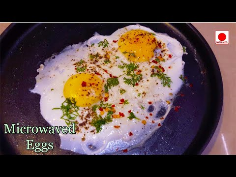 How To Make Fried Eggs In Microwave