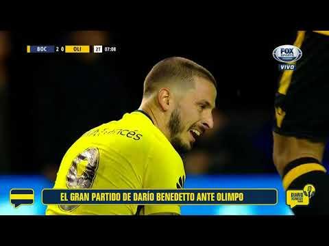 El gran partido de Darío Benedetto ante Olimpo