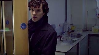 Sherlock and John's First Meeting | A Study In Pink | Sherlock | BBC