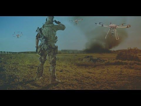 طائرة درون مدججة بالأسلحة لحروب الغد