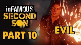 inFamous: Second Son Evil Walkthrough Part 10 - Bus Stops - Evil&Expert Playthrough