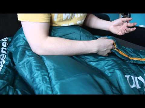 Спальный мешок «Антрим». Видеообзор.