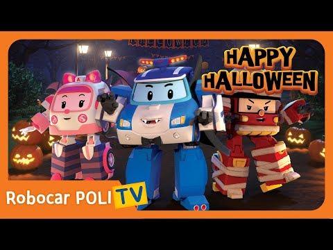Happy Halloween   Robocar POLI   Childrern Song