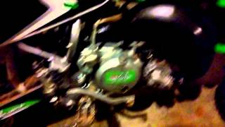 10. 2007 Kawasaki KX 65 Monster Energy