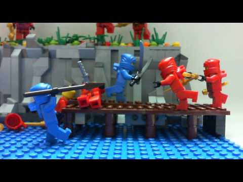 Blue Ninja Go - http://ziljin.blogspot.com/ Part of my Brick Kingdoms Lego Universe Fan Fiction. Inspired by Avatar The Last Airbender / Naruto / Mortal Kombat. The Red Ninj...