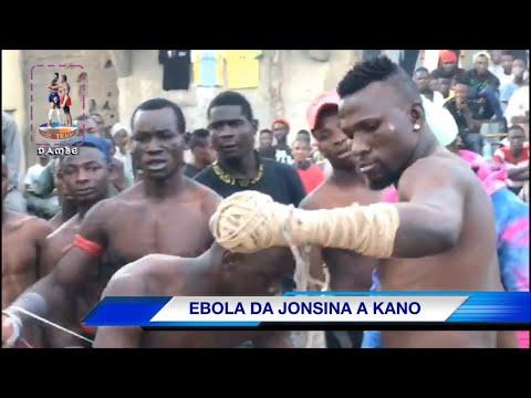 Damben kano na yau litinin 16/3/2020,ebola da jonsina,sunyi Alwashin buga Dambe Gobe a kano