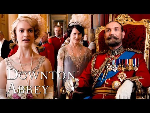 Rose's Coming-Out Ceremony at Buckingham Palace | Downton Abbey