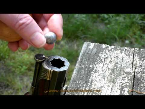 Loading and shooting a Franco-German Jaeger Rifle