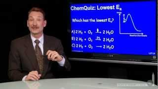 Lowest Activation Energy  (Quiz)