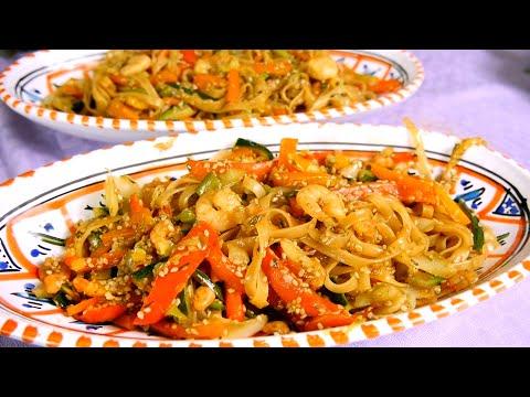 noodles saikebon fatti in casa • ricetta genuina e sana