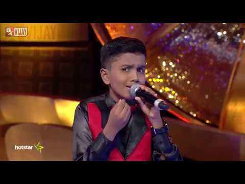 Video Super Singer Junior - Malare Mounama by Dharshan and Rohini download in MP3, 3GP, MP4, WEBM, AVI, FLV January 2017