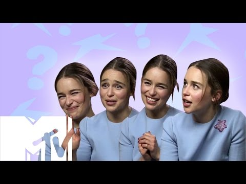 Emilia Clarke Plays 'Would You Rather?': TERMINATOR EDITION | MTV Movies