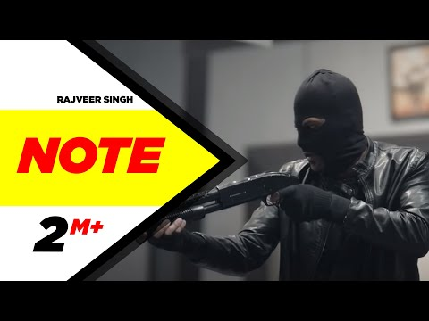 Note Video Song | Rajveer Singh | Latest Punjabi Songs 2015 | Speed Records