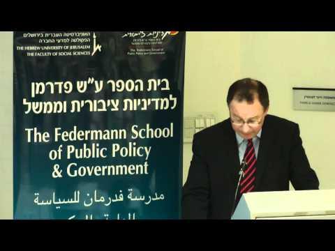 Israel Außenpolitik im vergangenen Jahr - Rafael Barak