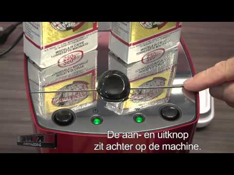 Gaggia RI9302 pistonmachine in zilver of rood