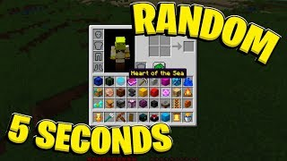 What If YOU Got A RANDOM Minecraft Item Every 5 Seconds | JeromeASF