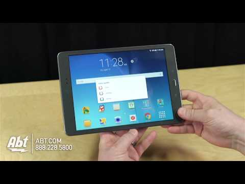 Samsung Galaxy Tab A - New Features