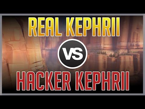 正版Kephrii奪命女 vs 外掛Kephrii奪命女 誰會贏呢?