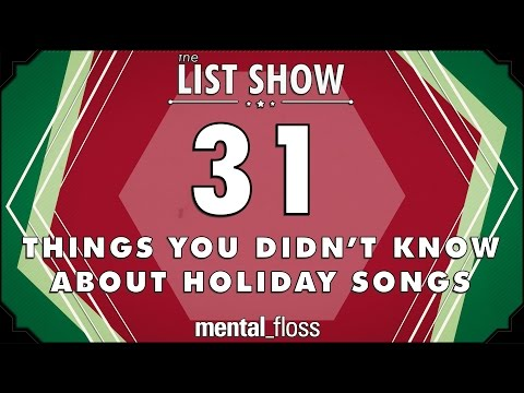 31 Things You Didn t Know about Holiday Songs