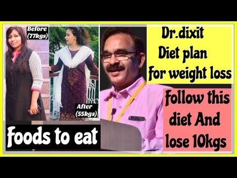 Diet plans - DR.DIXIT EFFORTLESS WEIGHT LOSS DIET PLAN  Lose 10kgs fast  Diet plan to follow Azra Khan Fitness
