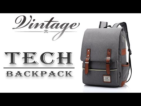Vintage, Elegant, Cool Tech Backpack for 20$/20£ | Review (ZDTECH)