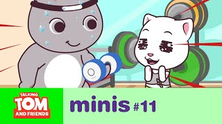 Video Talking Tom and Friends Minis - Workout Time (Episode 11) MP3, 3GP, MP4, WEBM, AVI, FLV September 2019