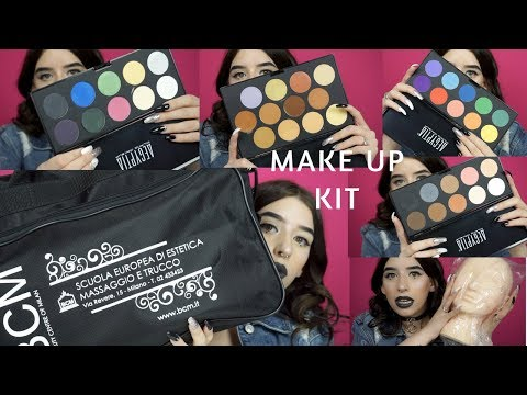 KIT ACCADEMIA DI TRUCCO BCM: PARTE 2  ||MAKE UP KIT ||