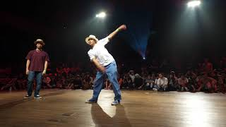 KELO vs Yosuke – DANCE ALIVE HERO'S 2018 ALL STYLES KANTO CHARISMAX SEMI FINAL (Another angle)