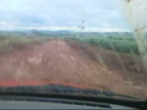 Estrada ruim, de Carmo do Rio Verde a Rubiataba