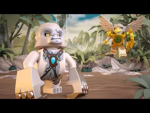 Vidéo LEGO Chima 70009 : Le char de combat Loup