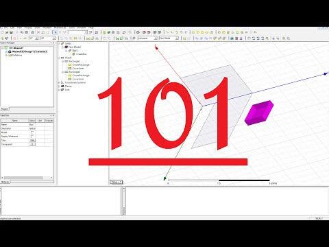 10-- Ansys Maxwell -- Basic Tutorial